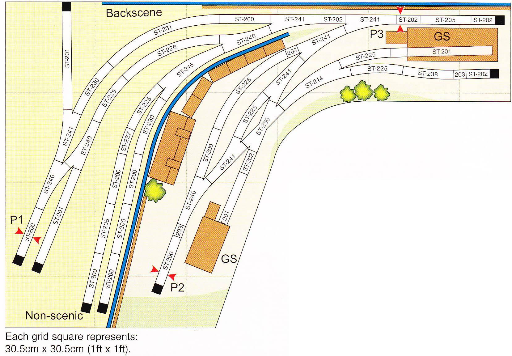 Peco Setrack Oo Plan 11 A Goods Yard Scheme For Shunting